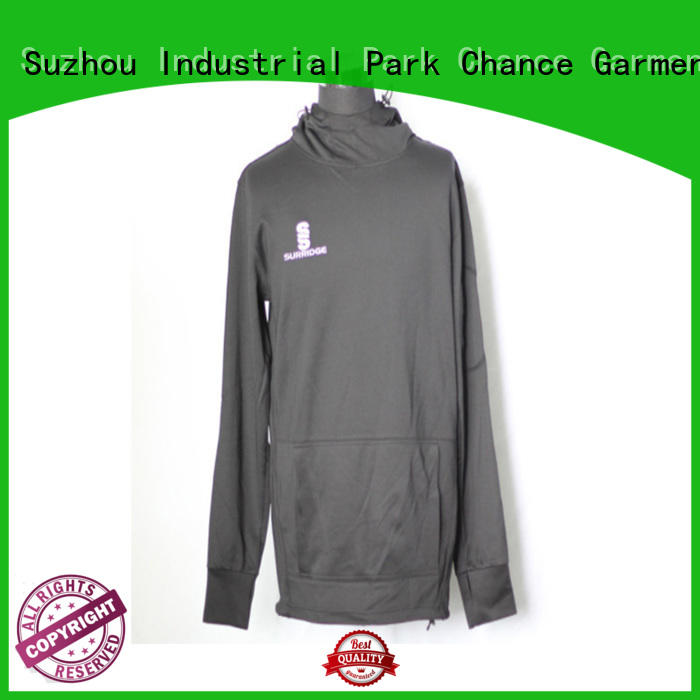 Chance fleece sweatshirt factory price for students
