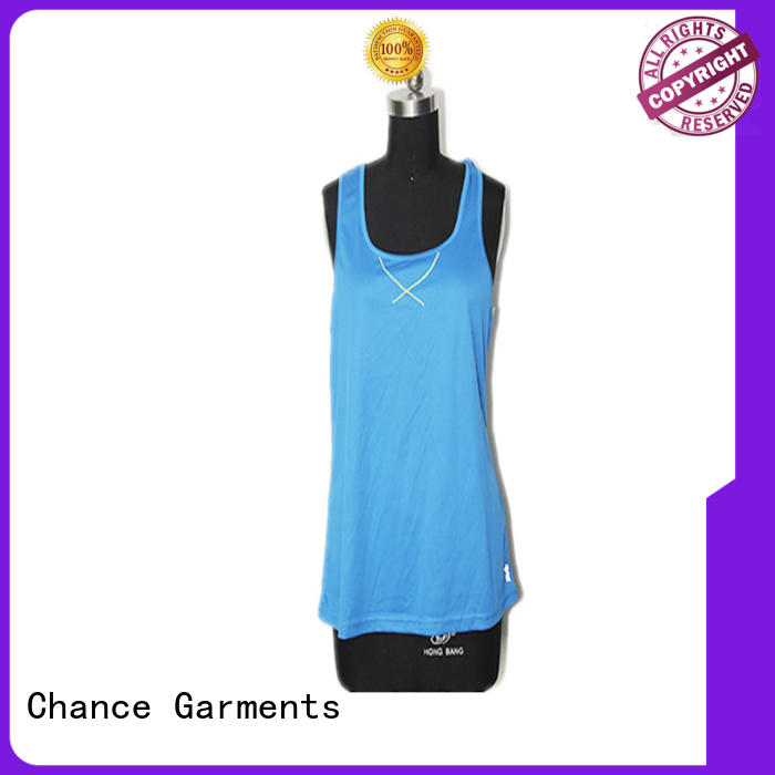 Chance comfortable ladies running tops wholesale for playground