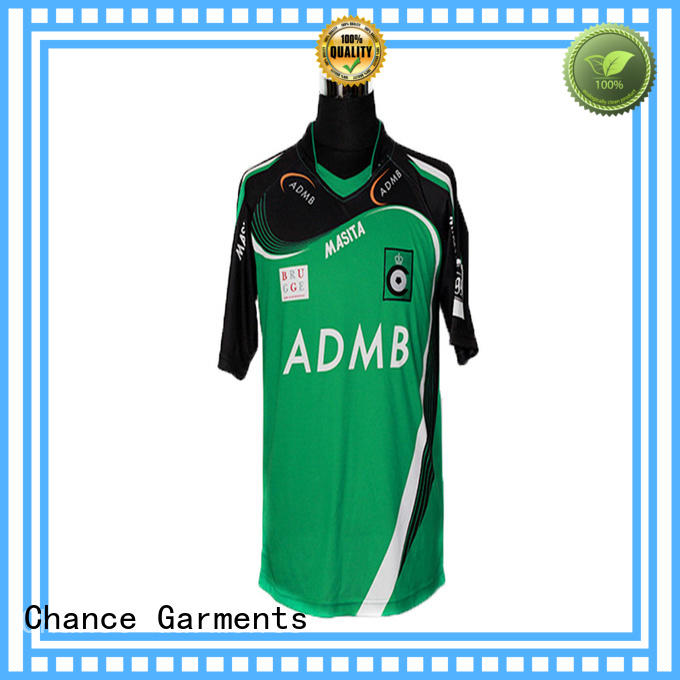 Chance antislip wholesale football jerseys design for road cycling