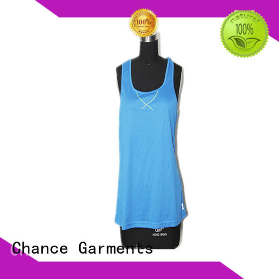 Chance best running clothes manufacturer for exercise