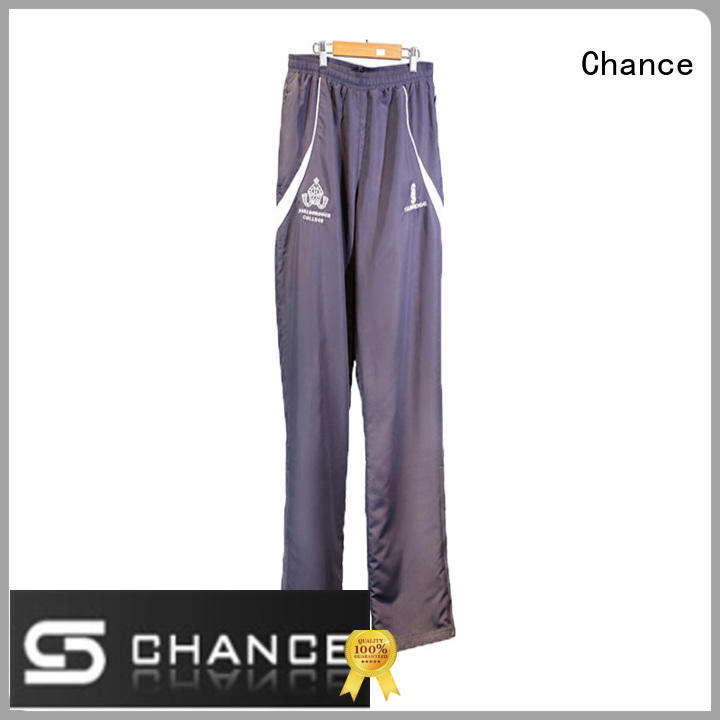 Chance classic mens warm up suits design for sport training