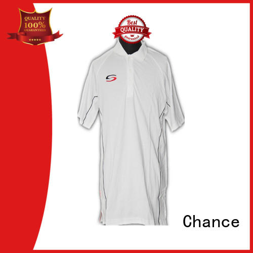 Chance polyester cotton polo shirts customized for men