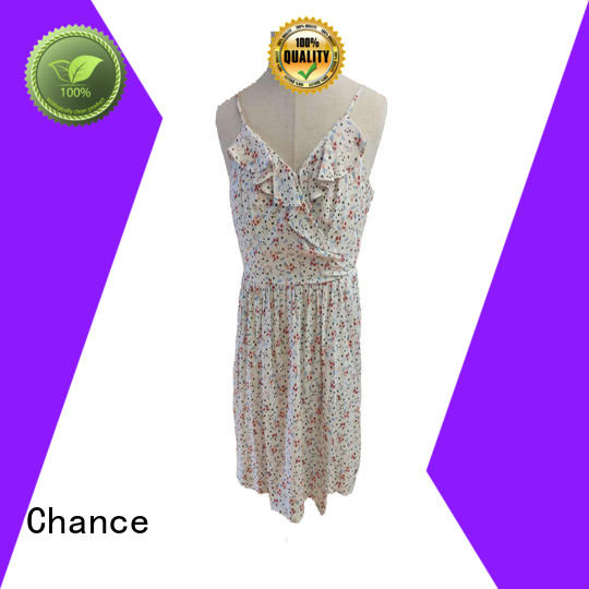 Chance fashion women casual dresses design for women