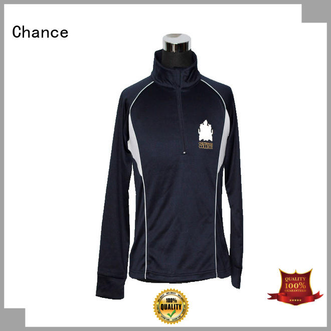 Chance long sleeve polyester jackets for winter with good price for winter