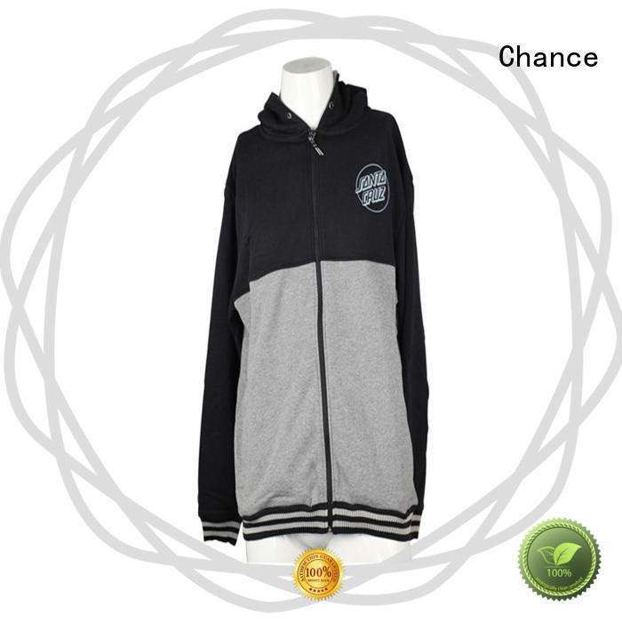 Chance grey girls hooded sweatshirt manufacturer for sports