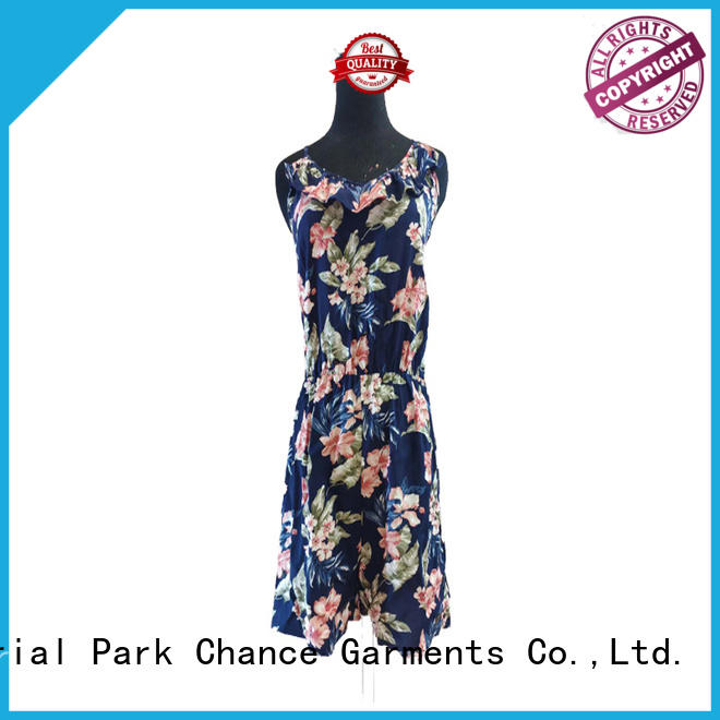 Chance fashion casual floral dresses manufacturer for party